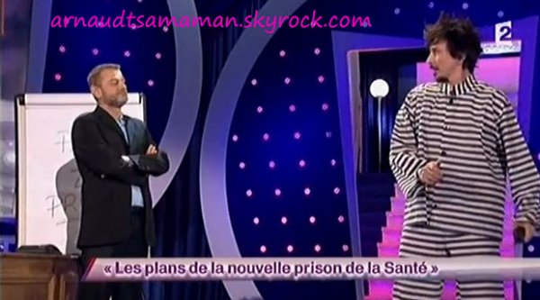 Les plans de la nouvelle prison de la Santé (58ème passage d'Arnaud Tsamere)
