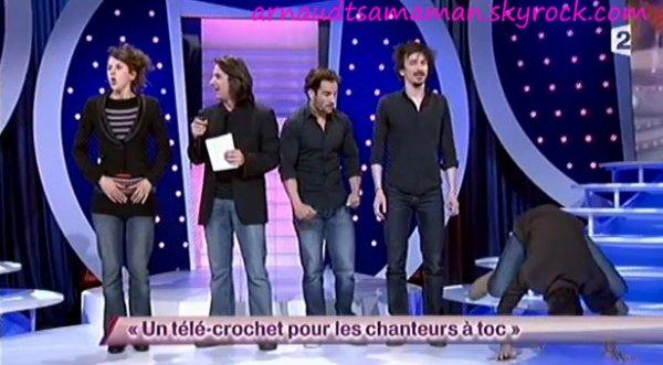 Un télé-crochet pour les chanteurs à toc (sketch collectif - 59ème passage d'Arnaud Tsamere)