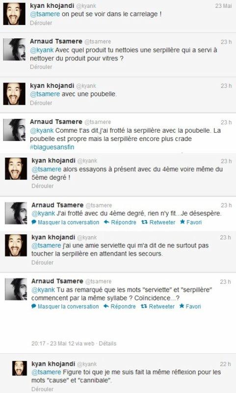 La grosse gaffe d'Arnaud Tsamere