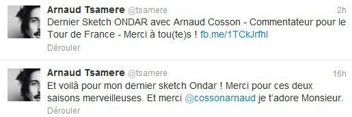 """Arnaud Tsamere au prime time de """"On n'demande qu'à en rire!"""" du 29 juin 2012!!!!"""