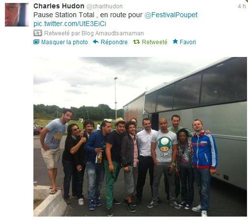 Direction le Festival de Poupet avec Arnaud Tsamere et les pensionnaires d'ONDAR