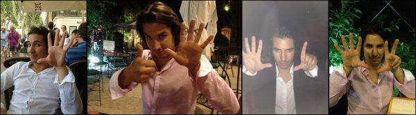 Les doigts de Jérémy Ferrari (avec la participation d'Arnaud Tsamere)