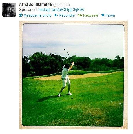Suite des vacances d'Arnaud Tsamere en Corse...