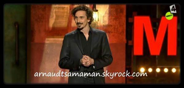 Arnaud Tsamere invité dans la soirée d'Eric Antoine & friends décoiffent Montreux