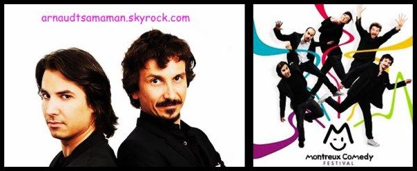 Arnaud Tsamere et Jérémy Ferrari présenteront le Montreux Comedy Festival 2012!