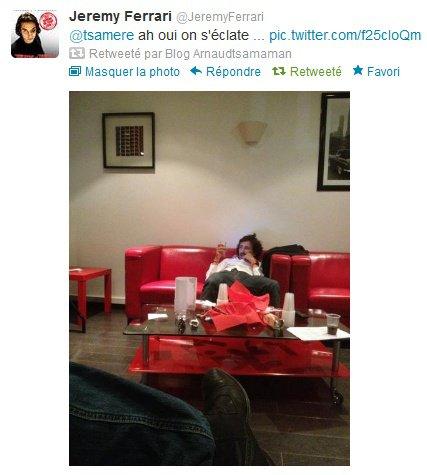 """Arnaud Tsamere, Jérémy Ferrari et Nicole Ferroni dans """"C'est la rentrée"""""""