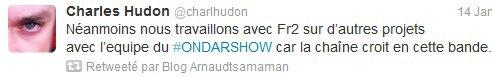 Mauvaise nouvelle pour le ONDAR Show...