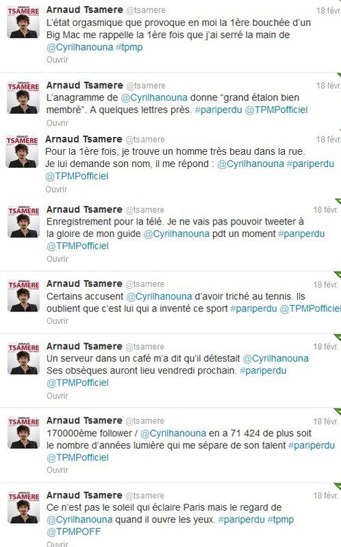 """Arnaud Tsamere est passé dans """"Touche pas à mon poste!"""""""