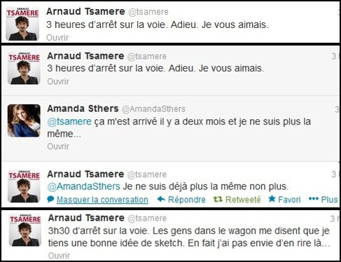 Quand Arnaud Tsamere s'ennuie...