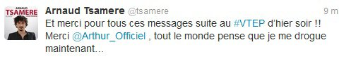Arnaud Tsamere dans VTEP (Vendredi Tout Est Permis)
