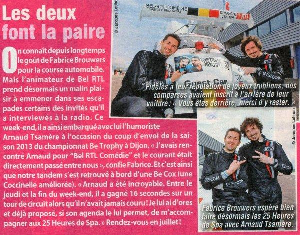 Le Ciné Télé Revue parle du Be Trophy avec Arnaud Tsamere