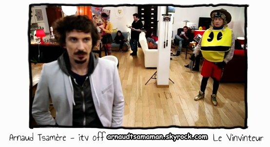 Arnaud Tsamere encore dans le Vinvinteur