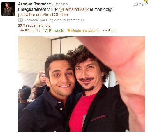 Arnaud Tsamere va encore dans VTEP!