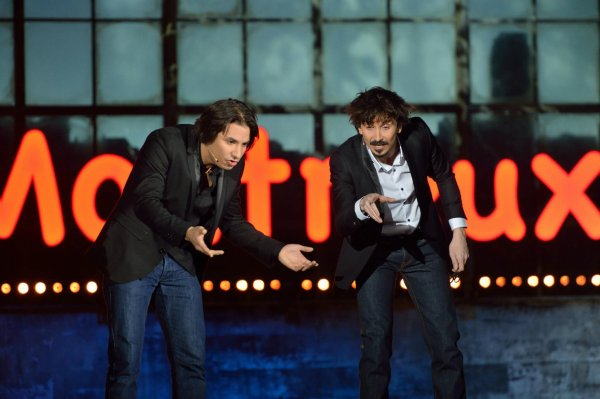 Record d'audience pour Arnaud Tsamere et Jérémy Ferrari au Montreux Comedy Festival!