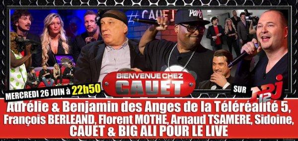 Arnaud Tsamere dans l'émission de Cauet