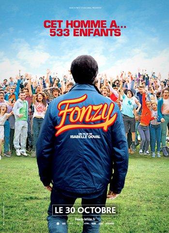 "Arnaud Tsamere dans le film ""Fonzy"""