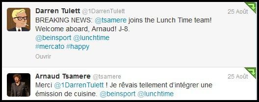 """A la rentrée, Arnaud Tsamere sera dans l'équipe du """"Lunch Time""""!"""