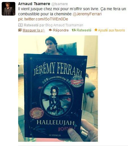 Le livre de Jérémy Ferrari va bientôt sortir...