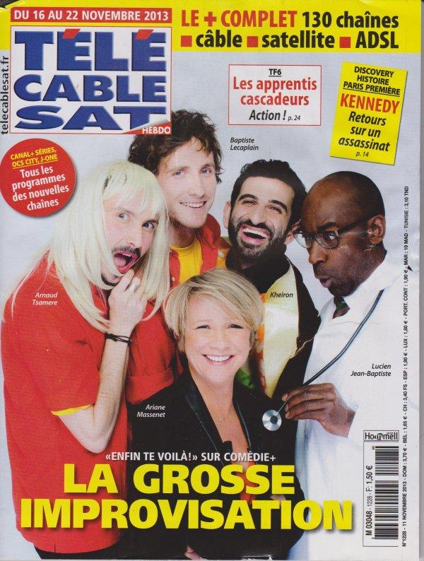 """Arnaud Tsamere dans la 1ère de l'émission """"Enfin te voilà"""""""