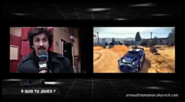 """Arnaud Tsamere dans """"Carrément Jeux Vidéo"""""""