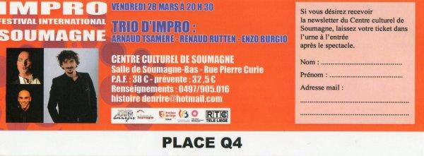 Arnaud Tsamere en impro au Festival de Soumagne!!!
