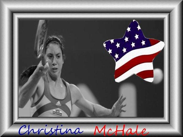 Christina McHale la future Etoile du tennis Américain ?