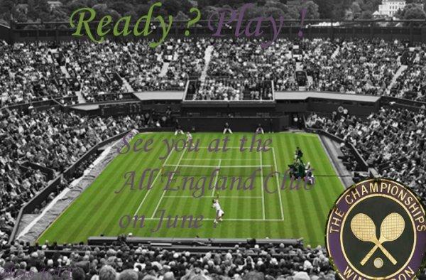 Deux semaines sont passées et nous voila à Wimbledon !
