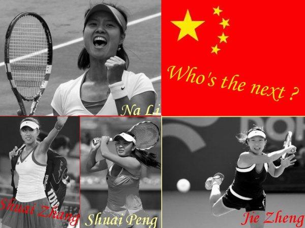Qui est la plus belle joueuse sur le cours : La Chine