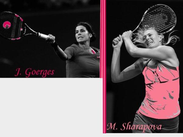 Jeu Treve Hivernal : 1er Tour : Sharapova-Goerges !