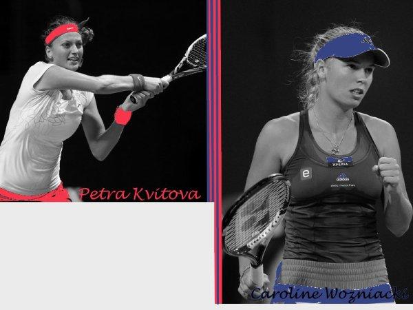 Jeu Tournoi Treve Hivernal - 1er Tour : P. Kvitova-C. Wozniacki !