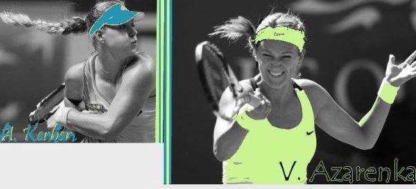 Jeu Tournoi Treve Hivernal - Quart de Finale : Azarenka-Kerber !