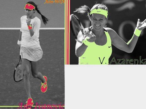 Jeu Tournoi Treve Hivernal - Demie-Finale : Ivanovic-Azarenka !