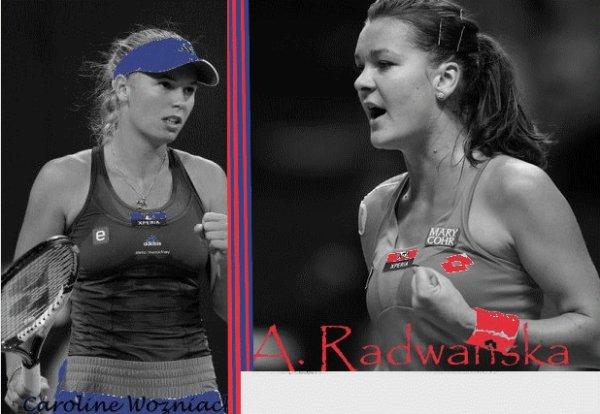Jeu Tournoi Treve Hivernal - Demie Finale : Wozniacki-A. Radwanska !