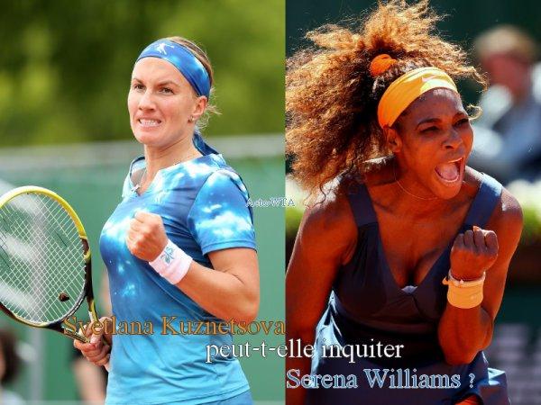 RG 2013 - Huitième de finale --> Dimanche 2 Juin, mais qui sera qualifiée pour les quarts de finales ?