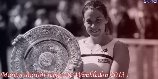 Wimbledon 2013 - La Finale --> Samedi 6 juin, un premier sacre pour chacune... Mais laquelle ?