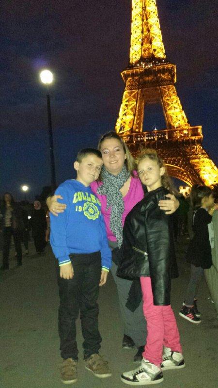 Soiree sur PARIS avec mes petits bouts