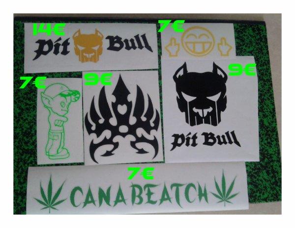 stickers a vendre