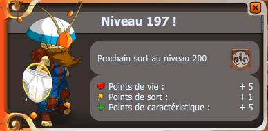 Up 197 !