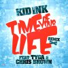 Up & Away June 12th!!!! / KID INK FT TYGA FT CHRIS BROWN - TIME OF YOUR LIVE REMIX (2012)