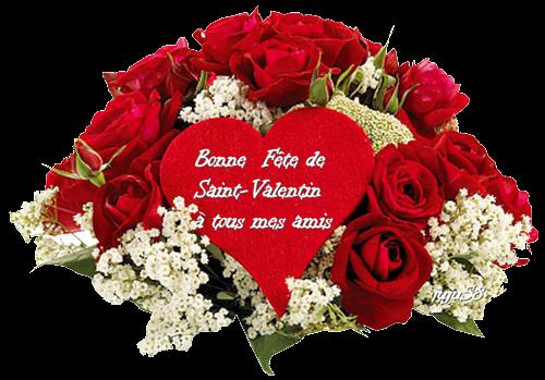 Bonne Fete de Saint-Valentin à tous mes amis/es et Visiteurs.<3