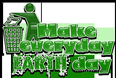 Happy Earth Day  - Bonne Fete de la Terre!