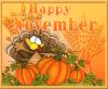Welcome November...