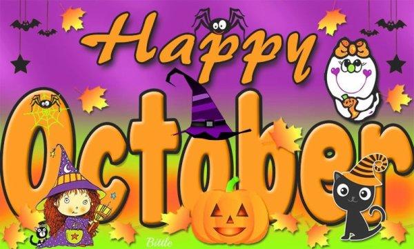 Bon mois d'Octobre