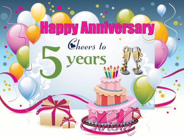 Mon blog a 5 ans :)