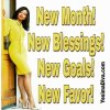 New Month, New Blessings!