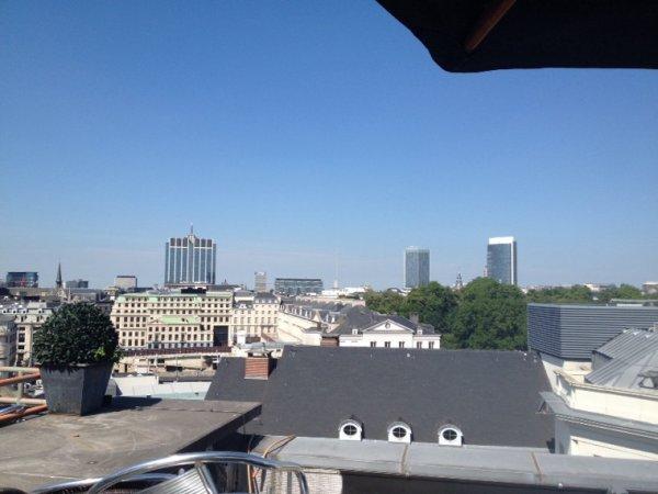 Vue sur la ville de Bruxelles