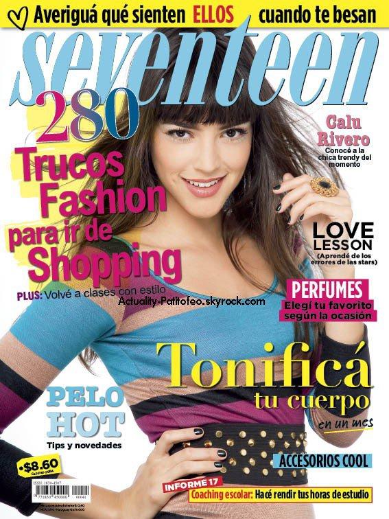 _ La Jolie Rivero fait la couverture du magazine SEVENTEEN _