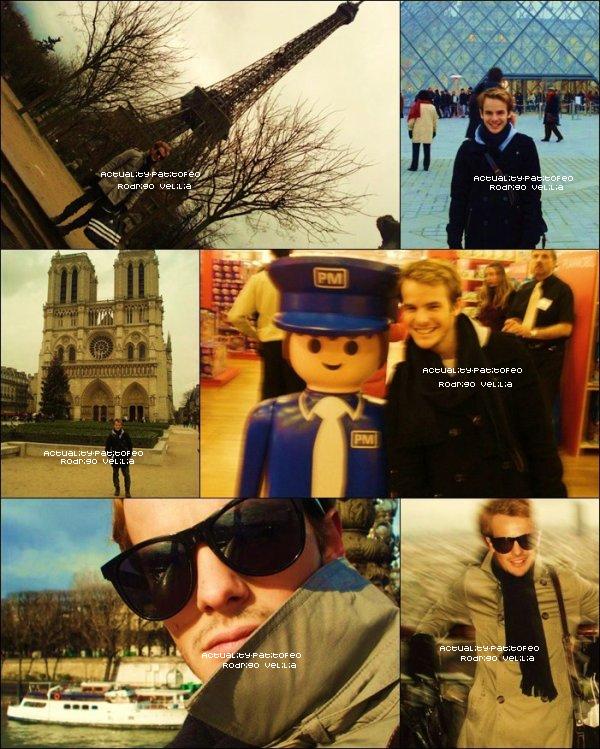 _   FLASHBACK Février 2010  Rodrigo Velilia quand il étais a Paris alors que personne n'étais au courant ! _