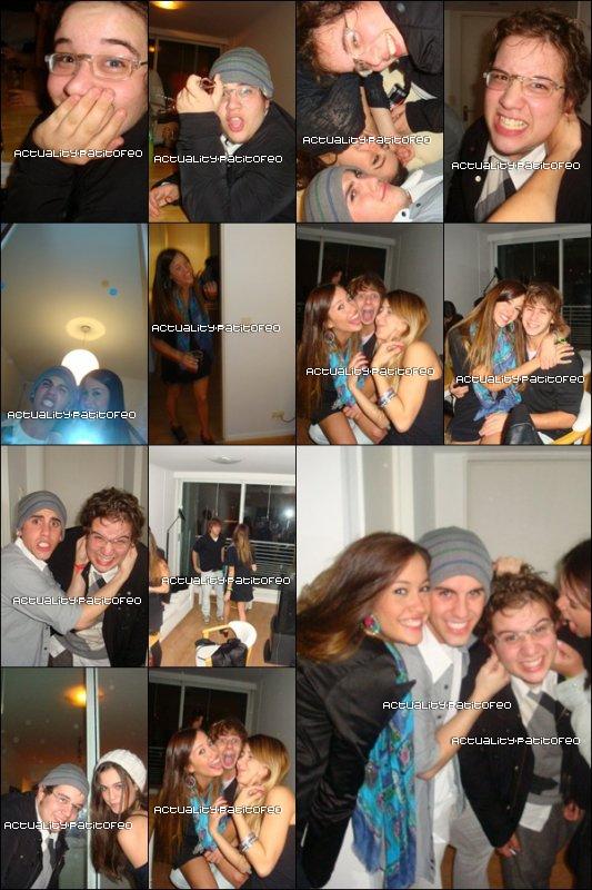_  Photo Perso De l'anniversaire de Nicolas TorcanowskyHier le 13/05 Avec Nicole Luis , et qui dit Nicole dit Rama et il y'avais aussi Lola Moran , et son petit ami Juan et d'autres amis.  _