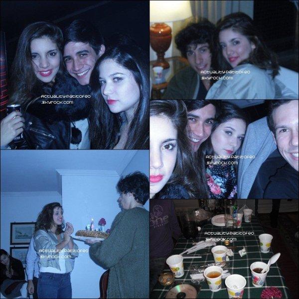 _ _ FLASHBACK . 06/05/11 _ # PHOTOS DE L'ANNIVERSAIRE DE VANESA LEIRO . _ _ _
